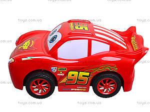 Красная инерционная машинка «Тачки», 388-09D, цена