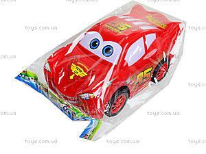 Красная инерционная машинка «Тачки», 388-09D, игрушки