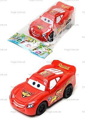 Машина игрушечная инерционная «Тачки», 5548-1