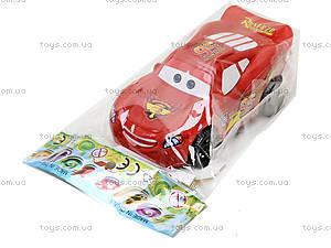 Машина игрушечная инерционная «Тачки», 5548-1, отзывы