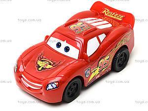 Машина игрушечная инерционная «Тачки», 5548-1, детские игрушки