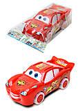 Красная детская машинка «Тачки», 5543M, фото