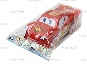 Красная детская машинка «Тачки», 5543M, отзывы