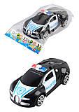 Машина инерционная игрушечная POLICE, 236-2A, отзывы