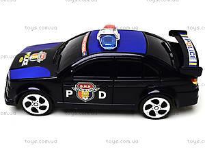Игрушечная машина «Полицейский патруль», 999-3, купить