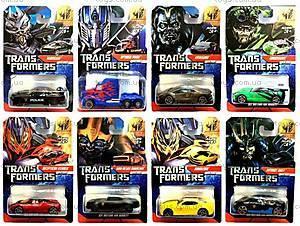 Машина инерционная металлическая персонажи «Трансформеры», 5858-1