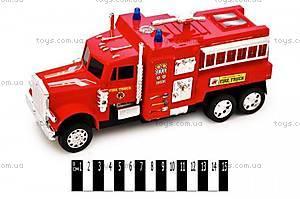 Машина инерционная «Пожарная», KK7