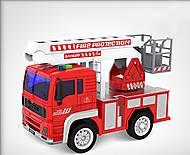 Машина инерционная «Пожарная» с кнопками, WY550C, купить