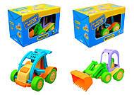 Детский трактор Friends on the move, 54061