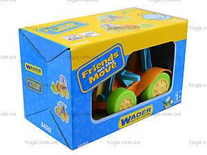 Детский трактор Friends on the move, 54061, игрушки