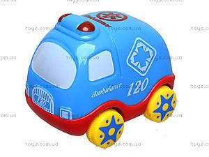 Детская машинка «Скорая помощь», 7763, игрушки
