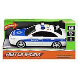 """Машинка """"Автопром. Полиция"""", 7668A, доставка"""
