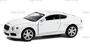 Коллекционная машинка Bentley Continental, 554021, фото