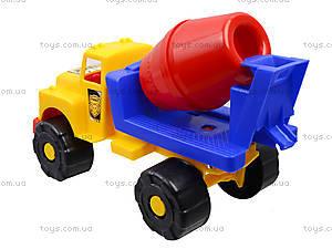 Машинка-бетономешалка, 5188, игрушки