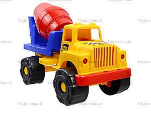 Машинка-бетономешалка, 5188, детские игрушки