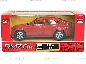 Коллекционная машинка BMW X6, 354002, купить