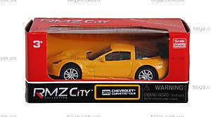 Детская коллекционная машина Chevrolet Corvette, 354005, купить
