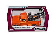 Машинка Chevy 3100 Stepside Tow Truck (оранжевый), KT5378W