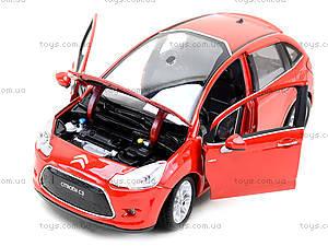 Машинка Citroen C3, 24014W, фото