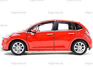 Машинка Citroen C3, 24014W, цена