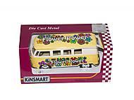 Машинка Classical Bus (желтая), KT5060YFW, отзывы