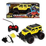 Машинка «CROSS CAUNTRY» желтый, КВ-021