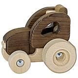 Машинка деревянная goki Трактор, 55911G, фото