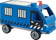Машинка деревянная «Полиция», Д303, детские игрушки