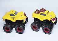Машинка джип желтого цвета, KLX500-236, отзывы
