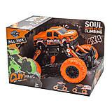 Машинка-джип «Монстр» оранжевая, KLX500-421, отзывы
