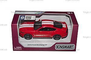 Машинка Ford Mustang GT (красная), KT5386FW