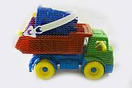 Машинка «Геркулес» с набором для песочницы, Л-016-21, фото