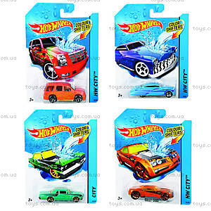 Машинка Hot Wheels «Измени цвет», BHR15, купить
