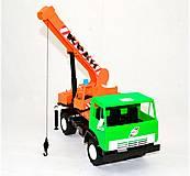 Машинка «КАМАЗ» Кран (зеленый), 860, отзывы