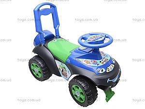 Машинка-каталка со спинкой «Автошка», 01311706, фото