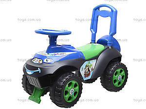 Машинка-каталка со спинкой «Автошка», 01311706, цена