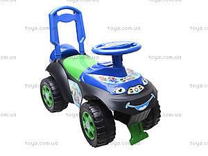 Машинка-каталка со спинкой «Автошка», 01311706, игрушки