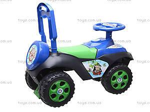 Машинка-каталка со спинкой «Автошка», 01311706, детские игрушки