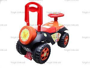 Детская машина-каталка «Автошка» с музыкальным рулем, 013117R,U03, фото