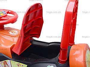 Детская машина-каталка «Автошка» с музыкальным рулем, 013117R,U03, цена
