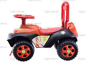 Детская машина-каталка «Автошка» с музыкальным рулем, 013117R,U03, детские игрушки
