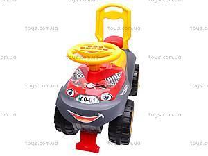 Машинка-каталка «Автошка» для детей, 013117R,U01, фото