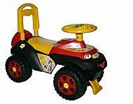 Машинка-каталка «Автошка» для детей не муз, 01311708, фото
