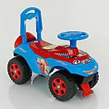 Машинка-каталка «Автошка» красно-синяя, 0141/12, купить игрушку