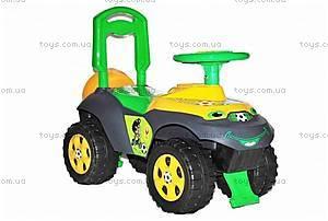 Машинка-каталка для детей «Автошка» без муз, 01311709, купить