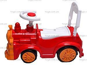 Машинка-каталка «Паровозик», 761_К, фото