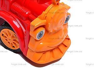 Машинка-каталка «Паровозик», 761_К, игрушки