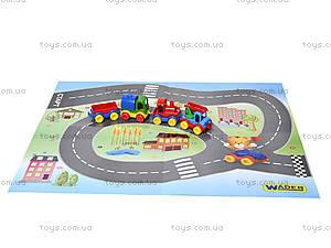 Машинка Kid cars с картой, 39243, фото