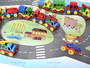 Машинка Kid cars с картой, 39243, игрушки