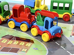 Машинка Kid cars с картой, 39243, детские игрушки